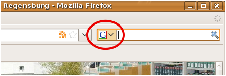 Auswahl Firefox