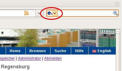 Suche Firefox
